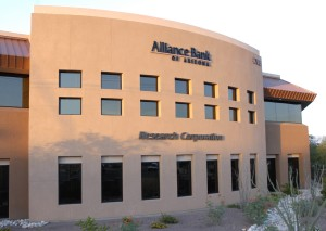 alliance bank / research corp.